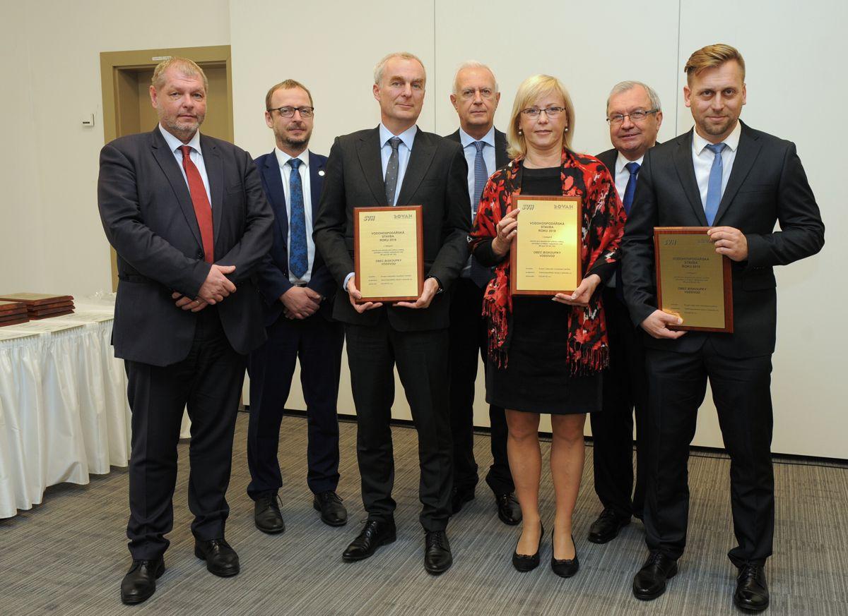 Ocenění Vodohospodářská stavba roku 2018